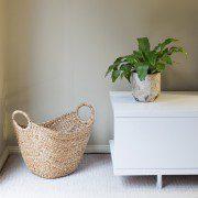 Natural plant pot style