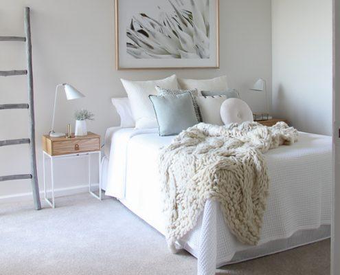 Lane Cove Cozy bedroom Styling