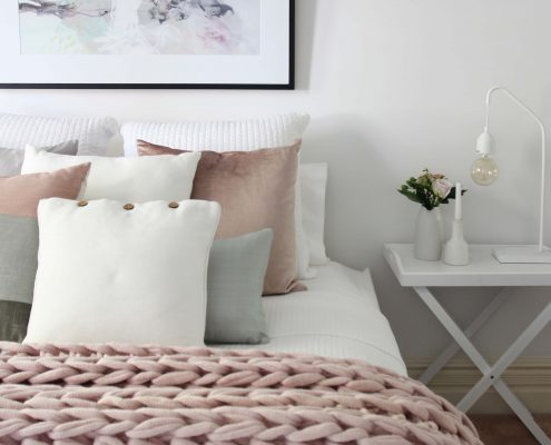 Master Bedroom Styling, Bedside Table